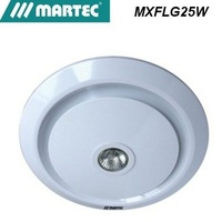 Martec Gyro White 296mm round Exhaust Fan with 50w GU10 light