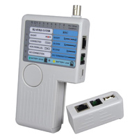 CABLE CONTINUITY TESTER RJ11 RJ45 BNC COMMON USB CABLE