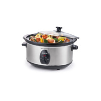 Maxim 3.5L Stainless Steel Slow Cooker