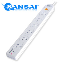 6 Ways Powerboard with Surge Protection