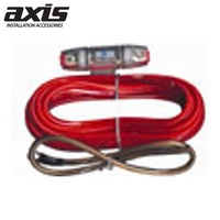 AXIS 8GA Power Cable Kit for Car Audio Installation 6m Power Cable 0.5m Earth Cable AGU Fuse
