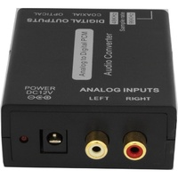 PRO2 PRO1262 Analog Stereo Audio To Digital Audio Converter
