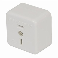2 Pin 32 Volt 15 Amp Panel Socket for low voltage applications