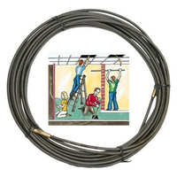 Cable Puller 20M Coil Type Suit Electricians Installers  For Pulling Cables Through Ceilings And Roof Runs