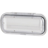 Cover for Radio Head Unit to Suit QM-3815 MDA015  UV Resistant Plastic Housing White Base Colour NEW