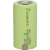 NiMh Rechargeable Battery 3300mAh Sub C Single