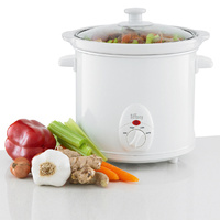 Slow cooker 3.0L Tempered Glass Lid SC30W