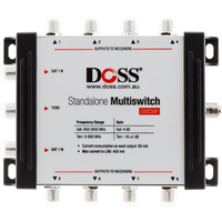 3-in 8-out Multiswitch 5-2 150 MHZF-Type Satellite Fta &3 In ports with 8 Out ports