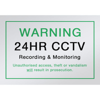 DOSS SNA4 CCTV Video Camera Sign  A4 Size Acrylic