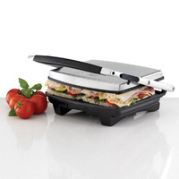 HELLER 4 Slice Sandwich Press Flat non-stick cooking plates
