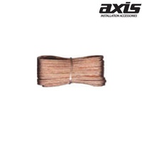 AXIS 16GA Transparent Speaker Wire Pack 7.5m