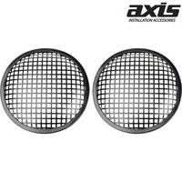AXIS 8inch Subwoofer Grilles Round Waffle Type with Clamp & Screws
