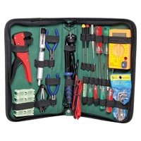 20 Piece Electronic Tool Kit With Soldering Iron