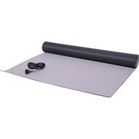 Large 1.2m x 0.6m rugged anti-static mat with an anti-static wrist strap lead