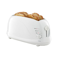 Cool Touch 4 Slice Wide Slot Toaster Defroster New