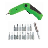 Rechargeable Electric Screwdriver 18 bits Philips Hex Torx Flat Type