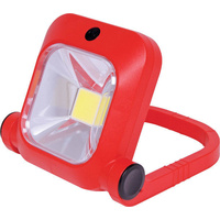 8W Folding Rechargeable LED Work Light up to 750 lumens for up to 2 hours run time