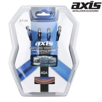 AXIS 4GA HI GRADE Amplifier Wiring Kit 1000W