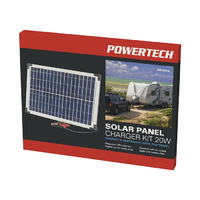 Solar Panel Charger Kit, 12V 20W *5 year warranty