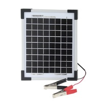 Monocrystalline 12V 5W Solar Panel Excellent performance under low light environments