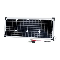 12V 20W Monocrystalline Solar Panel Excellent performance under low light environments