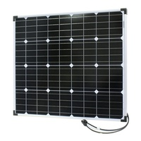 12V 80W Monocrystalline Solar Panel Excellent performance under low light environments Dimensions  755×661×25mm