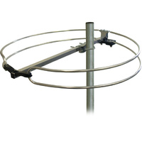 Matchmaster Ring Type FM Dipole Antenna 4G-5G LTE with Quick Mounting Clamp