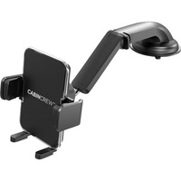 Cabin Crew Universal Phone Holder Suction Mount with Long Arm Black