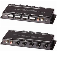 4 Zone Class D stereo Amplifier simple to use capable of driving up to 8 speaker