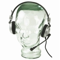 USB Stereo flexible Goosenecked Headset with Microphone