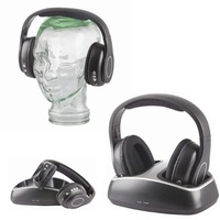 900MHz Wireless Stereo Headphones with FM Radio
