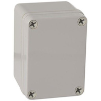 Plastic Enclosure IP66 ABS Wall mount Junction Box 110mmx70mmx80mm