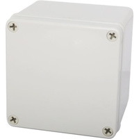 Plastic Enclosure IP66 ABS Wall mount Junction Box 100mmx125mmx125mm