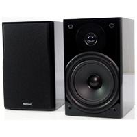"Sherwood ALTO620 6"" Two Way Bookshelf Speakers High Gloss Pair"