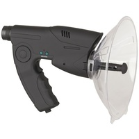 """Spy"" Parabolic Microphone with Recorder and 8x Magnifier"