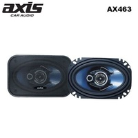 "AXIS 4 x 6"" 3-way coaxial speakers high performance full range pp woofer dome tweeter 200w"