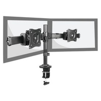 Dual LCD Monitor Desktop ARM Articulated Height Adjustment