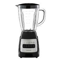 Heller 1.5L Glass Jug Blender Juicer with Detachable stainless Steel Blade