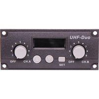 UHF Wireless Dual Microphone Receiver 640MHz Module