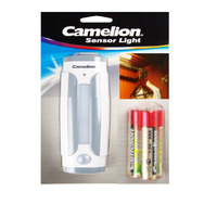 Camelion 4LED Motion Sensor Light Inc AAA Batteries