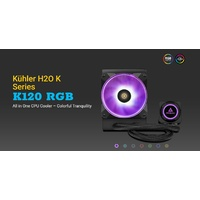 Antec Kuhler K120 RGB All in One CPU Liquid Cooler 3 Year Warranty