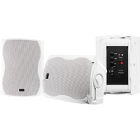 WINTAL Active Wall Mount Speaker 6.5 White 240 AC power input