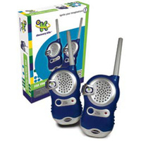 Discovery Kids FM Walkie-Talkies Work up to a range of 500 metres