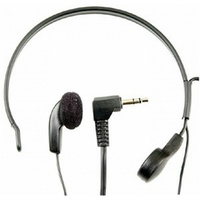 Headset with Throat Microphone hands free blocks out virtually all background noise