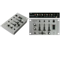 Mini Stereo DJ Mixer Portable 5 Input Stereo Multimedia Mixer DUB Audio For Video Or DJ
