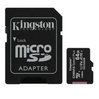 Kingston 64GB MicroSD SDHC SDXC Class10 UHS-I Memory Card Standard SD Adaptor