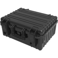 444X369X199 MM WATERPROOF CASE PLASTIC WATERPROOF CASE BLK