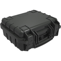 288X260X130 MM WATERPROOF CASE PLASTIC WATERPROOF CASE BLK