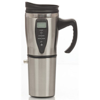 12V Car Stainless Steel Travel Mug with Built-in Heater