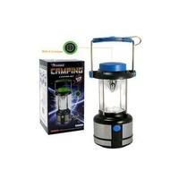 SANSAI Camping 17 LED Lamp lantern With Compass Blue